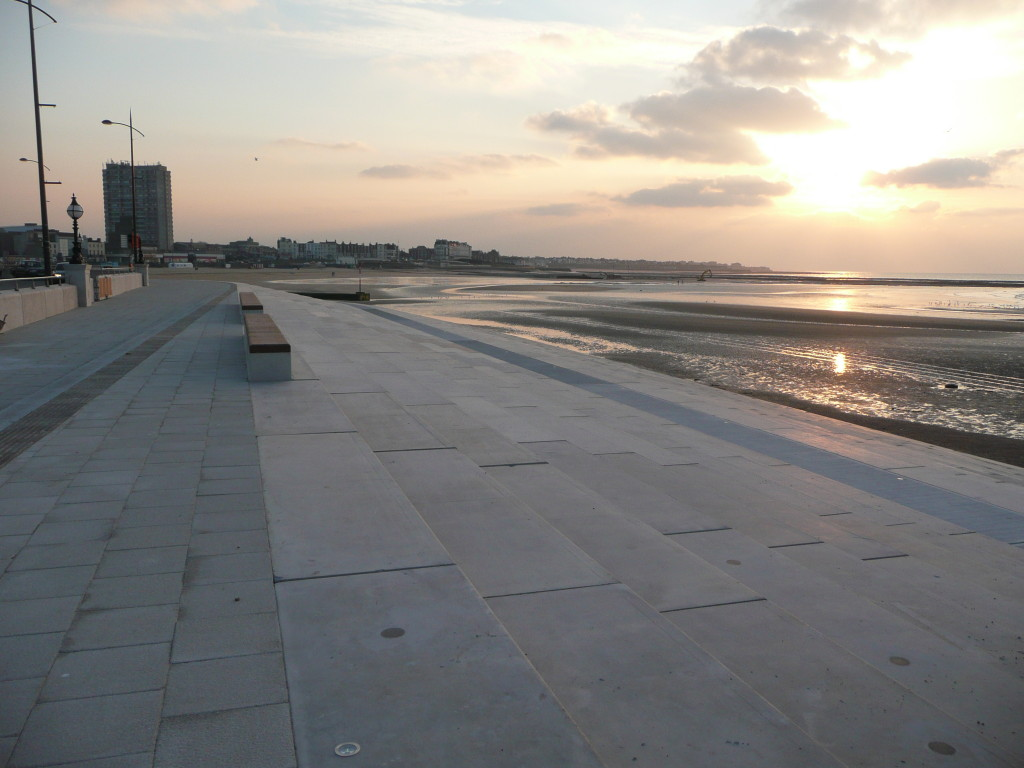 Margate Steps, Sunset
