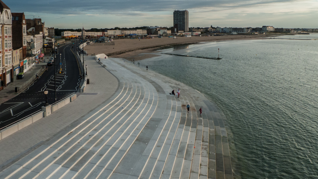 Margate Steps -  Image: Dean Barkley http://www.barkleyimages.co.uk/