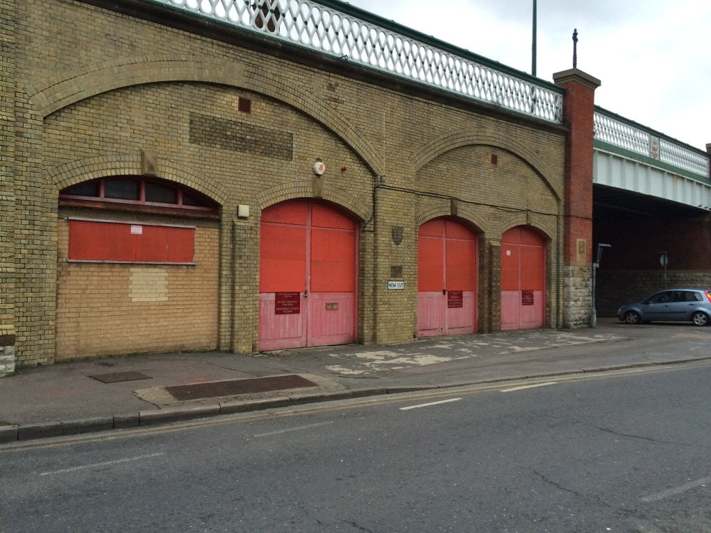 New Cut Viaduct - Kent Fire & Rescue Service - Chatham Placemaking Project - Chatham Patterns. Image: Christopher Tipping