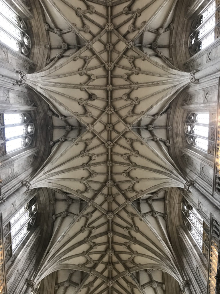 The magnificent Lierne Vaulting in the Cathedral was constructed between the 14th & 15th Centuries. Image: Christopher Tipping