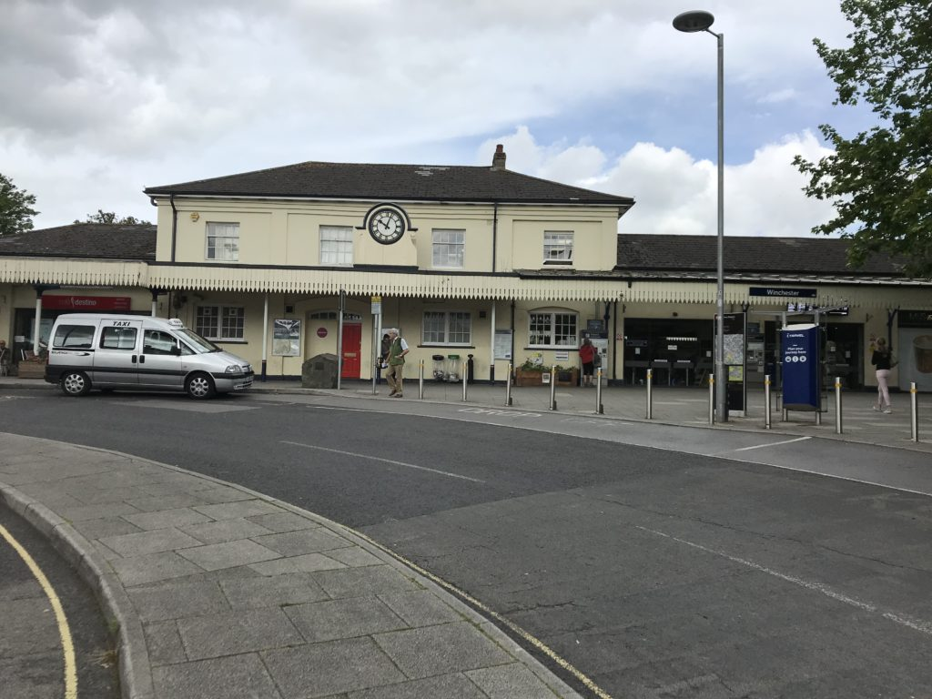 Winchester Station. Image: Christopher Tipping