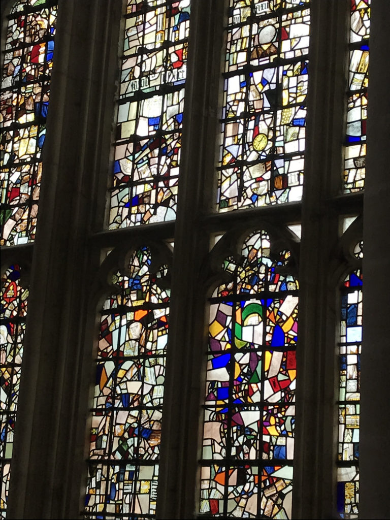 The great West Window of Winchester Cathedral. Image: Christopher Tipping